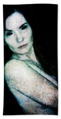 Bath Towel featuring the digital art Stacy 2 by Mark Baranowski