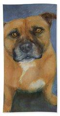 Staffordshire Bull Terrier Hand Towel