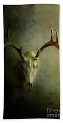 Stag Skull Bath Towel