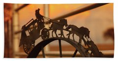 Stagecoach Sunset Hand Towel