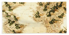 Staged World War Bath Towel