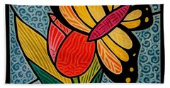 Stained Glass Duo Bath Towel