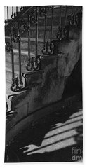 Stairway Lll Black And White Hand Towel
