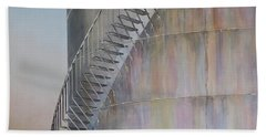 Stairway To Heaven Hand Towel by Marty Garland