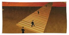 Stairway To Heaven Hand Towel by Thomas Blood