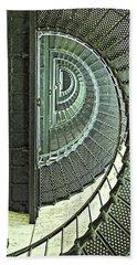 Stairwell Currituck Beach Lighthouse Bath Towel