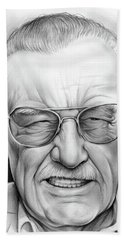Stan Lee Bath Towel