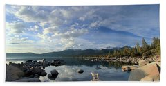Stand Up For Nature Bath Towel by Sean Sarsfield