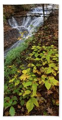 Bath Towel featuring the photograph Standing On The Edge by Dale Kincaid