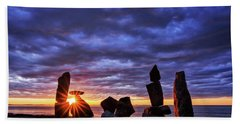 Standing Stone Halibut Pt Sunstar Rockport Ma Hand Towel