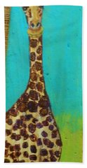 Standing Tall Hand Towel by Ann Michelle Swadener