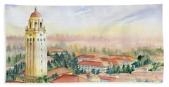 Stanford University California Bath Towel by Melly Terpening