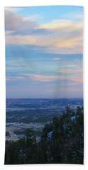 Stanley Canyon Hike Hand Towel by Christin Brodie
