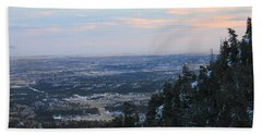 Stanley Canyon View Hand Towel by Christin Brodie