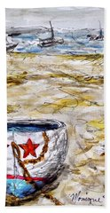 Star Boat Hand Towel