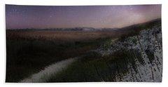 Bath Towel featuring the photograph Star Flowers Square by Bill Wakeley