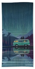 Star Light Vanlife Bath Towel