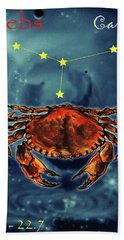 Star Of Cancer Hand Towel