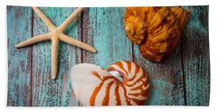 Star Shell Still Life Hand Towel