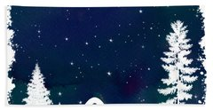 Star Struck Hand Towel by Heather Applegate