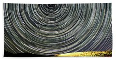 Star Trail Bath Towel
