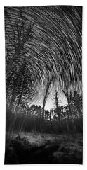 Star Trails - Blue Ridge Parkway Hand Towel