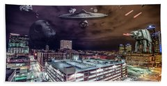 Hand Towel featuring the photograph Star Wars Detroit by Nicholas Grunas
