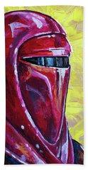 Star Wars Helmet Series - Imperial Guard Bath Towel by Aaron Spong