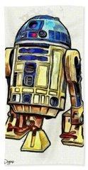 Star Wars R2d2 Droid - Da Hand Towel