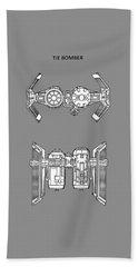 Star Wars - Spaceship Patent Hand Towel