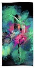Stardust Dancer Bath Towel