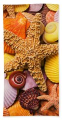 Starfish And Seashells  Hand Towel