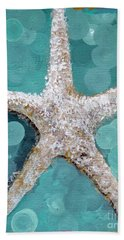 Starfish Goldie Hand Towel