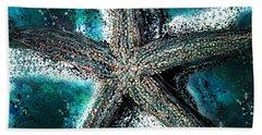 Starfish Ocean Deep Hand Towel