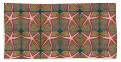 Starfish Pattern Bath Towel