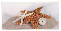 Starfish Still Life Bath Towel