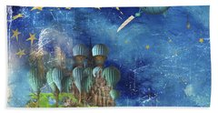 Starfishing In A Mystical Land Hand Towel