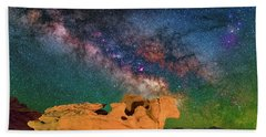 Stargazing Bull Bath Towel