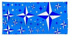 Starlight 9 Bath Towel by Linda Velasquez