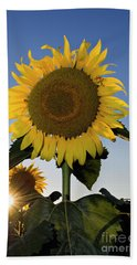 Starlight And Sunflowers - D008092 Bath Towel