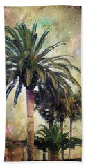 Starry Evening In St. Augustine Bath Towel