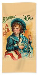 Starry Flag Cover Abc Book Hand Towel