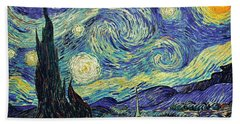 Starry Night Bath Towel