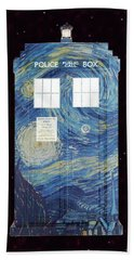 Starry Starry Night Bath Towel