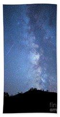 Stars And A Meteor Bath Towel