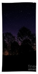 Hand Towel featuring the photograph Stars by Brian Jones