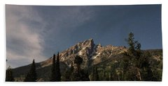 Stars Over Grand Teton Hand Towel