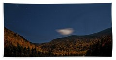 Stars Over Kinsman Notch Bath Towel