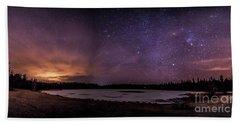 Stars Over Lake Eaton Hand Towel