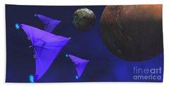 Starship Travel Bath Towel